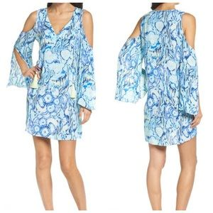 Lilly Pulitzer Benicia Cold Shoulder Mini Dress